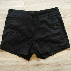Le Chateau | Black dress shorts